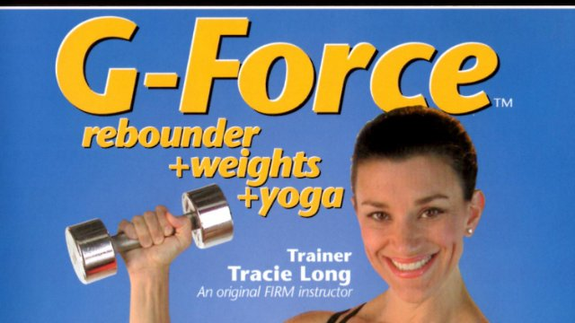 G-Force Rebounder Weights Yoga