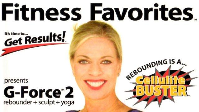 G-Force 2 Rebounder Sculpt Yoga