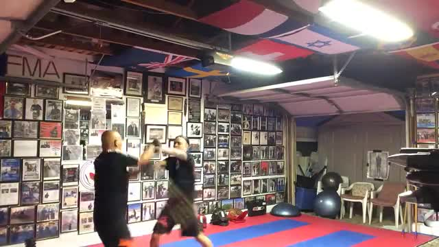 REFLEX SPEED:  Fast Sparring
