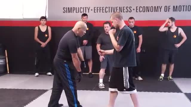 EMPTY HANDS: The Body Lean Back Technique