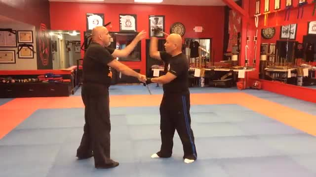 Module 1:  Lesson M, The 5 Cavada Flow, Left Hand Parry