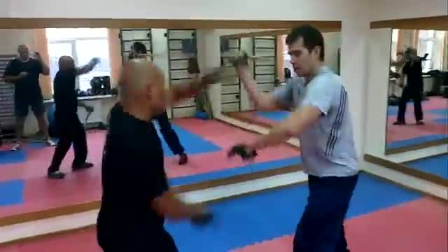 Sparring:  Fast Sparring with Footwork,  RUSSIA