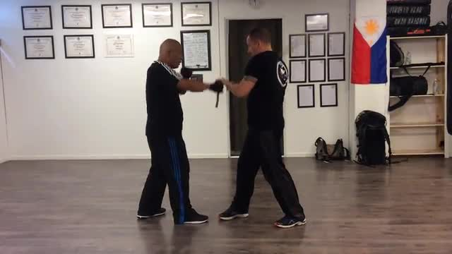 Module 2: Spar # 1,  Master Virgil doing the Instructor Part, SWEDEN