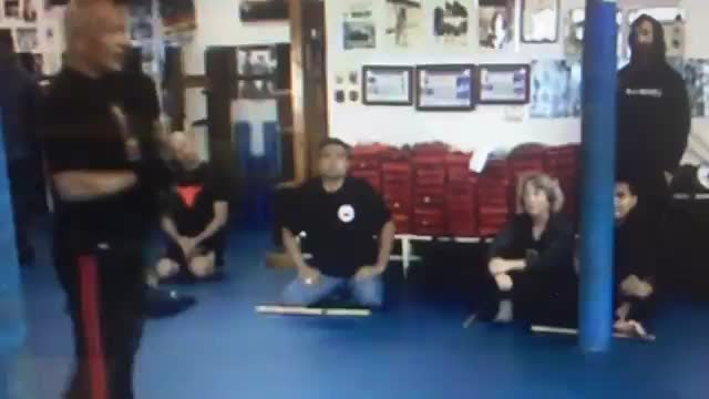 Demo at The Inosanto Academy of Martial Arts