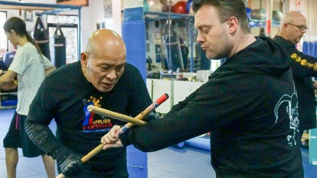 Module 1:  Lessons I,  Reflex Development Drill, Family Martial Arts Academy, Upland,CA, U.S.A.