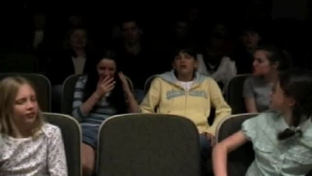 Unexpected behavior when being too loud during a movie