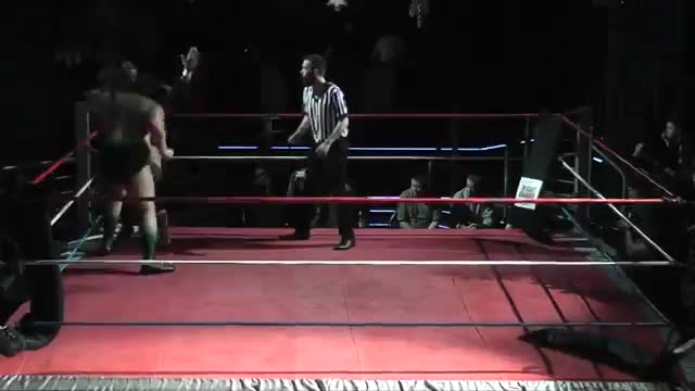 XWA British Heavyweight Championship - Big Damo vs Chris Hero - Nov 29, 2014