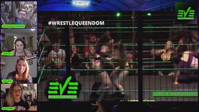 Behind The Wrestling Ep 4 - WAR GAMES - Rhia O'Reilly - Addy Starr - Jayla Dark
