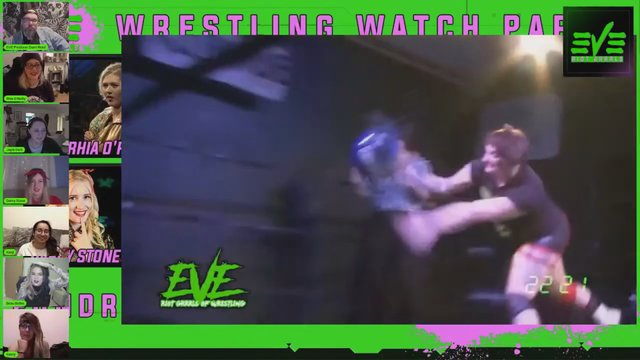 Behind The Wrestling Ep 5 - Jayla Dark vs Rhia O'Reilly w/ Rhia O'Reilly, Jayla Dark, Darcy Stone, Kanji & Kasey