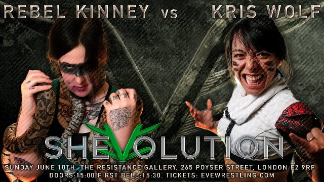 SHEvolution - Next Gen Women's Wrestling: Episode Three