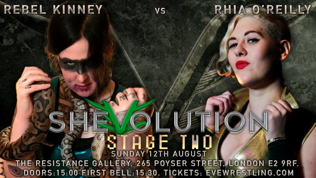 SHEvolution - Next Gen Women's Wrestling: Episode Five