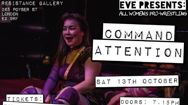 """EVE """"Command Attention"""", Oct 13, 2018"""