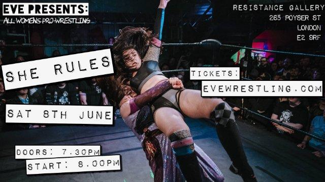 Pro-Wrestling:EVE | Pro-Wrestling: EVE - Women's Wrestling On Demand
