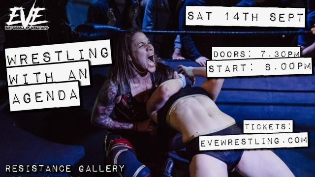 """EVE """"Wrestling With An Agenda!"""" - Sept 14, 2019"""