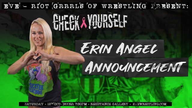 Erin Angel's Career Announcement - Oct 12, 2019