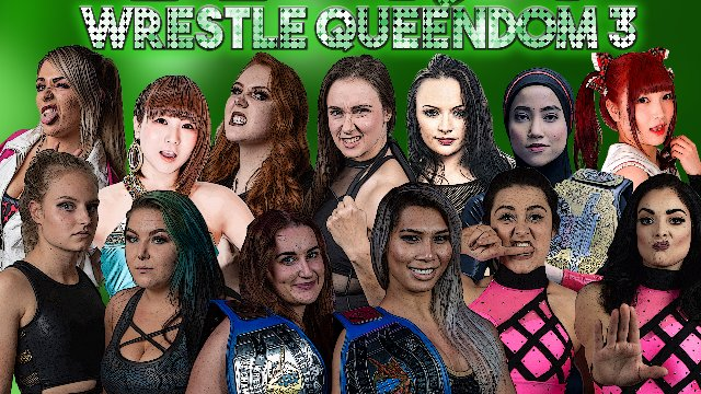 "EVE ""Wrestle Queendom 3"" - Jan 11, 2020"