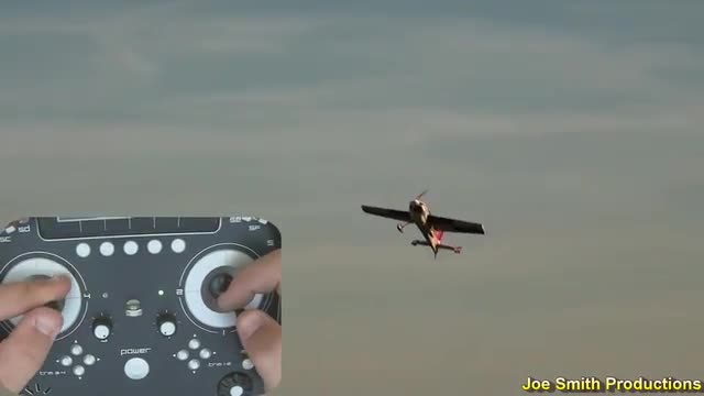 "Joe Smith Flying the 71"" AJ SLick  3D flight, Radio View"