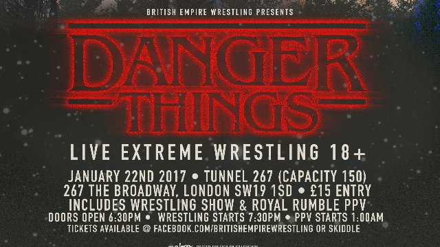 Danger Things 2017!