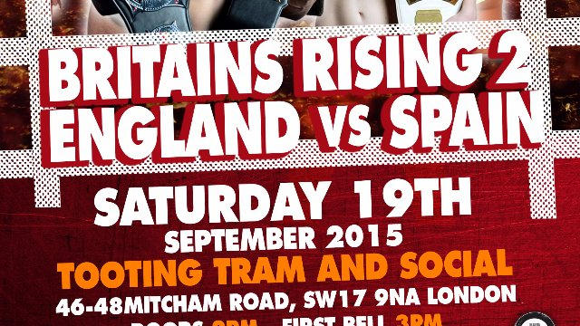 RCW vs BEW Britain's Rising II