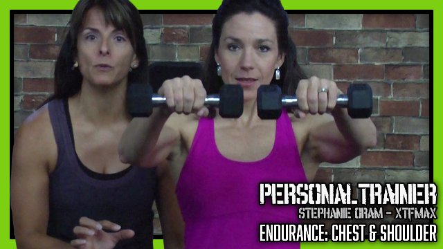 Personal Trainer Endurance Chest & Shoulders