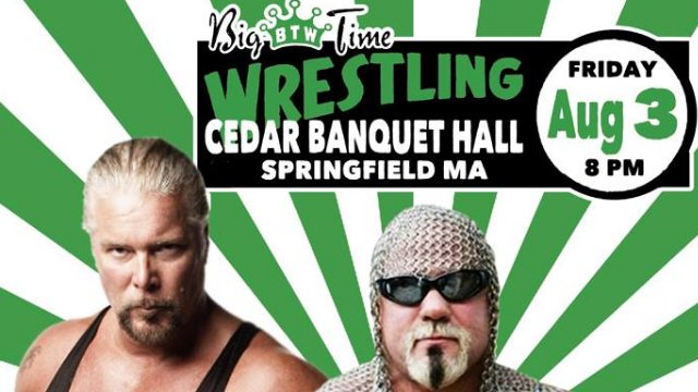 Big Time Wrestling Springfield, MA 8-3-18