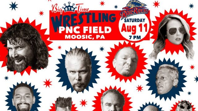 Big Time Wrestling Moosic, PA 8-11-18