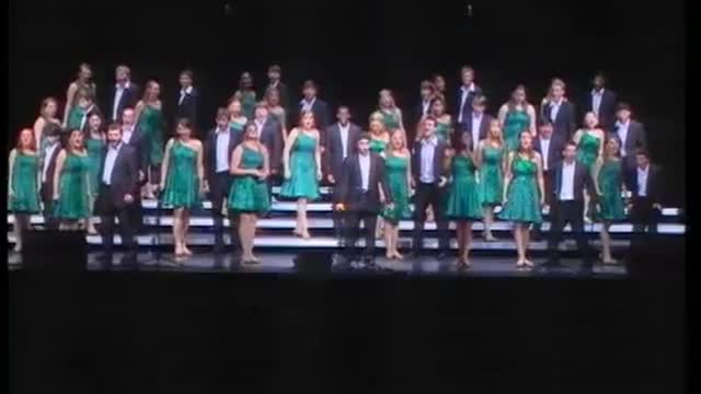 Oak Mountain High Choir -Con Brio- Finals Performance at 2012 Diamond Classic in Albertville, AL