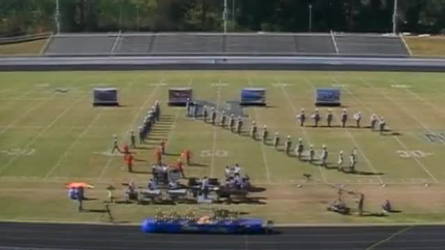 Eagles Landing Academy Band at 2012 Old South Marching Band Festival in Newnan, Georgia
