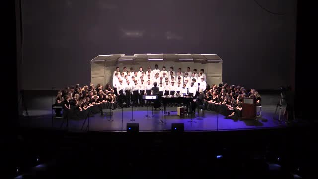 Huntsville Middle School Mixed Choir @ AMEA 2014 in Montgomery, Al