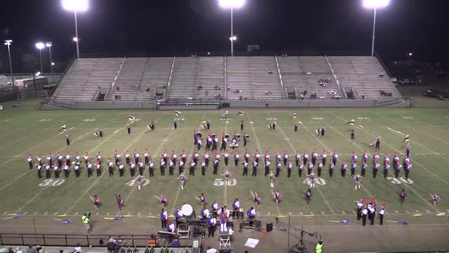 Valley High Band - Wide Angle ONLY - at 2013 Southern Showcase in Dothan