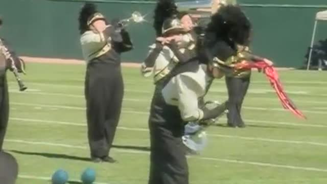 Pepperell High Band at 2012 Hoover Invitational MBF in Hoover, Alabama