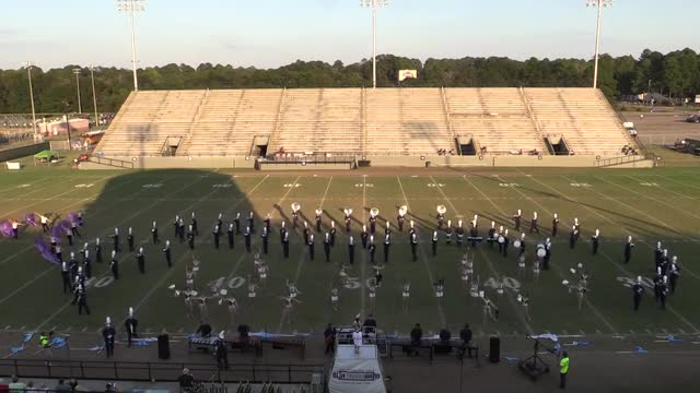 Arnold High Band at 2013 Southern Showcase MBF in Dothan, Alabama WIDE ANGLE ONLY