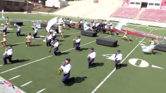 St James High Band at 2013 JSU Contest of Champions MBF in Jacksonville, Alabama