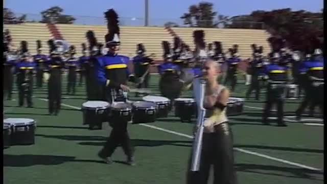 Fairhope High Band at 2010 Heart of Dixie MBF in Prattville, Alabama