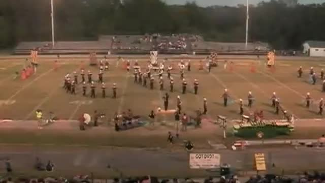 Louisville High Band at 2012 West Alabama MBF in Gordo, Alabama