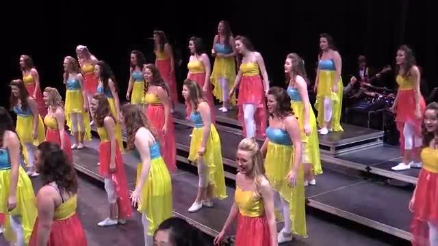 Auburn High Choir Elan Performance at 2014 Southern Showcase in Opelika, AL