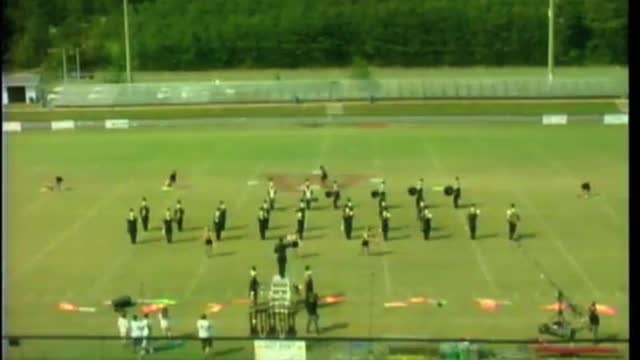 Lincoln High Band at 2012 Mid South MBF in Gadsden, Alabama