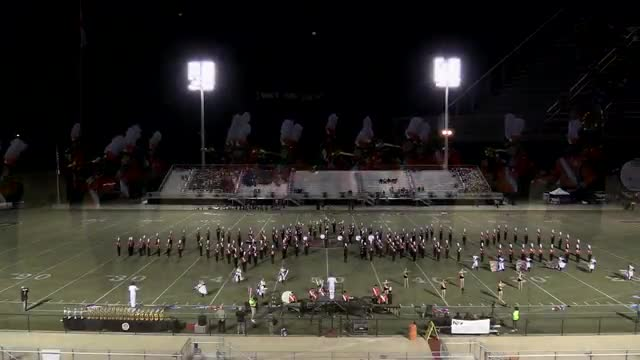 Austin High Band at 2013 Mid South MBF in Gadsden, Alabama