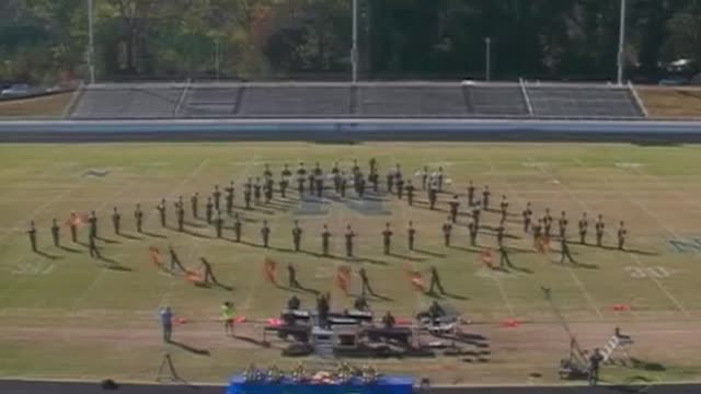 Lithia High Band at 2012 Old South Marching Band Festival in Newnan, Georgia