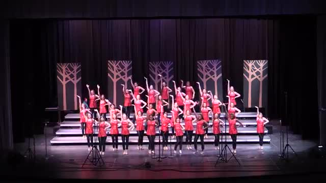 Enterprise Middle Choir Expressions Performance at 2014 Southern Showcase in Opelika, AL