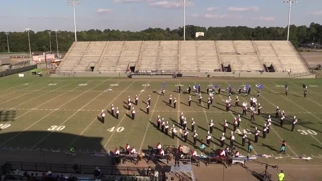 Shades Valley High Band - Wide Angle ONLY - at 2013 Southern Showcase in Dothan