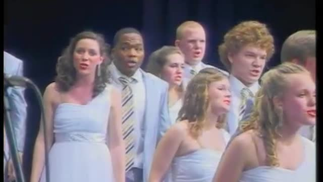 Auburn High Choir - Varsity Singers- Finals Performance at 2012 Diamond Classic in Albertville, AL