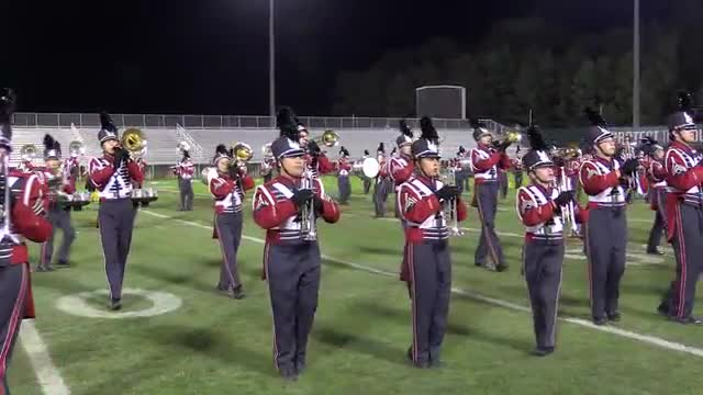 Oak Mountain High Band at 2013 Hoover Invitational MBF in Hoover, Alabama