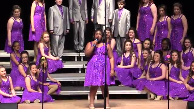 West Jones High Choir - Centerstage Performance at 2014 South Jones Show Choir in Ellisville, MS