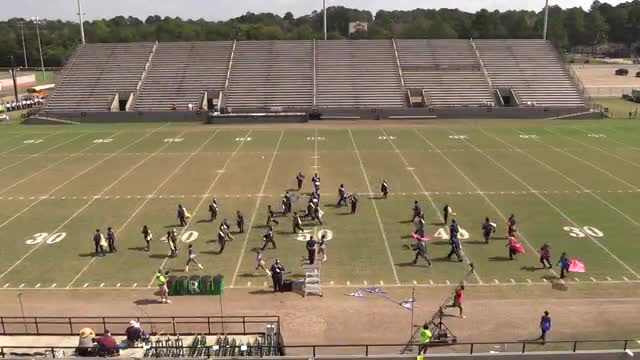 Monroe County High Band at 2013 Southern Showcase in Dothan
