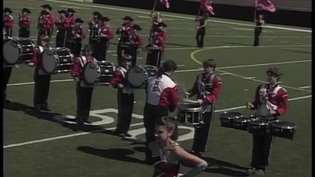 Ohatchee High Band at 2010 Heart of Dixie MBF in Prattville, Alabama