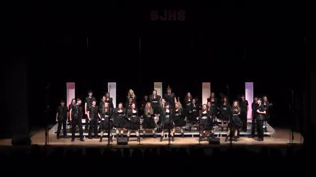 Colombia Academy High Choir - Premiers Performance at 2014 South Jones Show Choir in Ellisville, MS