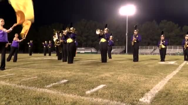 Ragland High Band at 2013 St. Clair Expo MBF in Moody, Alabama