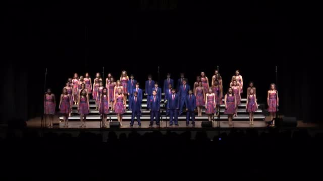 South Jones Middle Choir - Infusion  Performance at 2014 West Jones Show Choir in Laurel, MS