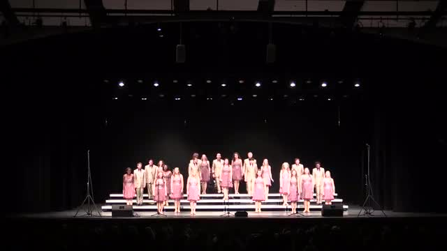 Prattville High Choir Spotlight Performance at 2014 Diamond Classic in Albertville, AL